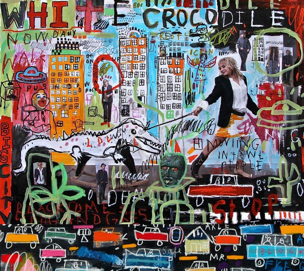 white crocodile-album